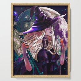 Dark Witch Serving Tray