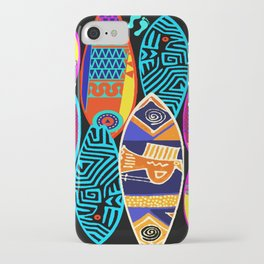 Hang Ten Surfboards iPhone Case