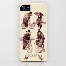 Bears on Bicycles iPhone (5, 5s) Slim Case