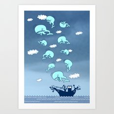 Where Have the Whales Gone? Art Print