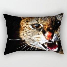 Scared catpainting Rectangular Pillow