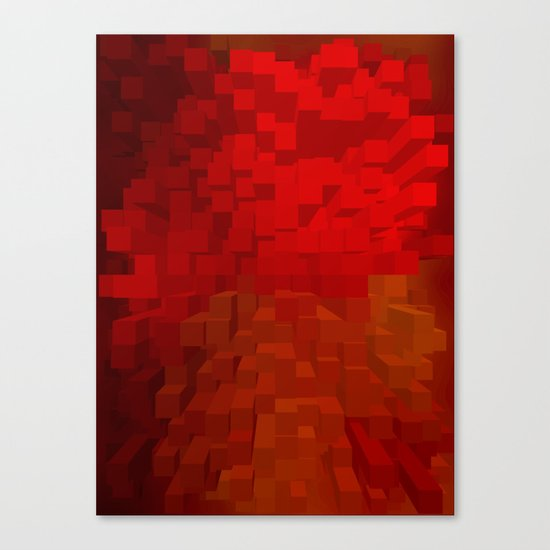 Extrusion Canvas Print