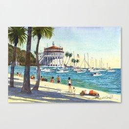 Avalon, Catalina Island Canvas Print