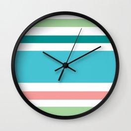 Newport Stripe Wall Clock