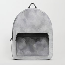 Snow Clouds in the Dark - Abstract Backpack