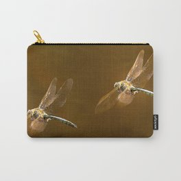 Shiny Dragonflies on the lake Carry-All Pouch