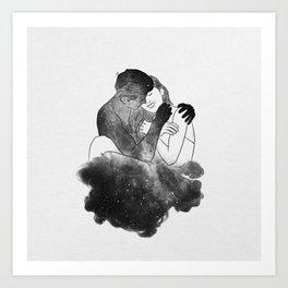 Universal conversations. Art Print