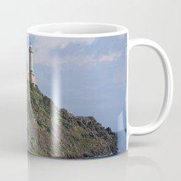 Italy Portoferraio, Island Of Elba, Tuscan archipelago Lighthouses Cities Coffee Mug