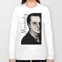 moriarty Long Sleeve T-shirts featuring Moriarty by LiseRichardson
