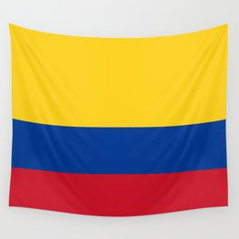 Colombia Flag Wall Tapestry