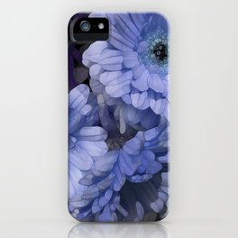 Tres Blueue iPhone Case