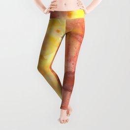 Watercolor Autumn Leggings
