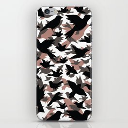 Bird Camouflage iPhone Skin