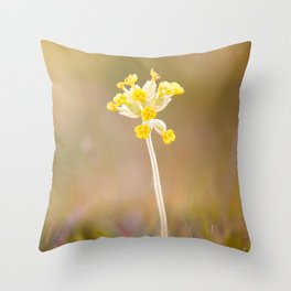 Cowslip Throw Pillow