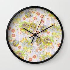 Moderne Chintz Wall Clock