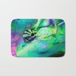 Camouflage Chameleon Bath Mat