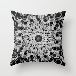 """Don't Trust Atoms, They Make Up Everything."", by Brock Springstead. Throw Pillow"