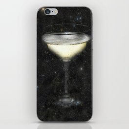 Champagne Nebula iPhone Skin