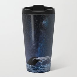 A whales Milkway Travel Mug