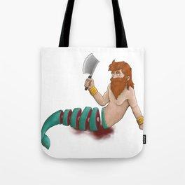sushi-merman Tote Bag