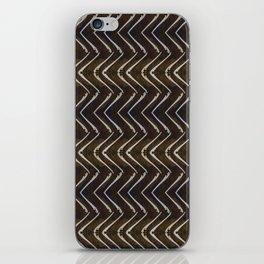 Bone Chevron iPhone Skin