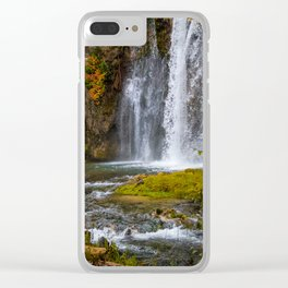 Spearfish Falls Clear iPhone Case