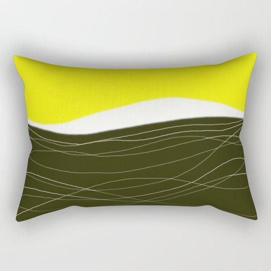 sunrise - design57 Rectangular Pillow