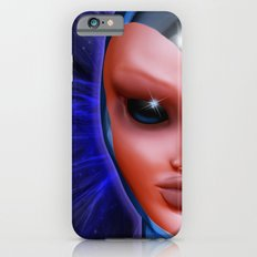 Blue Alien Mental Energy iPhone 6s Slim Case