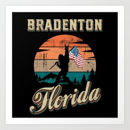 Bradenton Florida Art Print