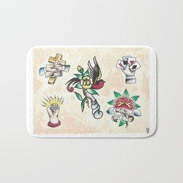 Hand Sheet - apprentice painting Bath Mat