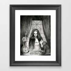 The Mis-Fortune Teller Framed Art Print