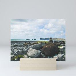 Coastal Stacks Mini Art Print