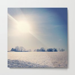 First Day of Spring Metal Print