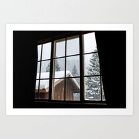 cabin Art Prints featuring Cabin by JacDodge