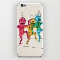 Skeletons Dancing iPhone & iPod Skin