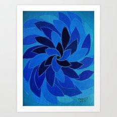 abstract 7 Art Print