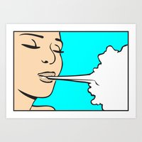The Elements_Air Art Print
