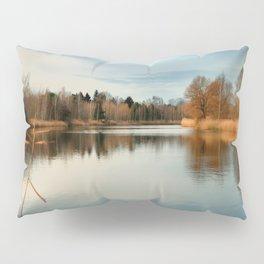 SUNSET AT LAKE Pillow Sham