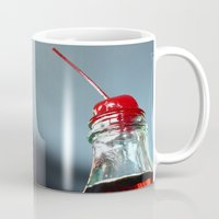 coke Mugs featuring Cherry Coke by Mike Eisenberg