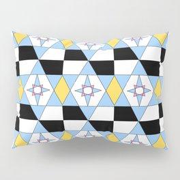 symetric patterns 46 -mandala,geometric,rosace,harmony,star,symmetry Pillow Sham