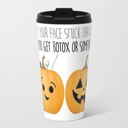 Pumpkin Botox Travel Mug