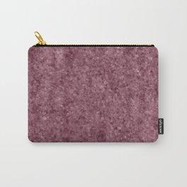 Deep Blush Antique Foil Carry-All Pouch