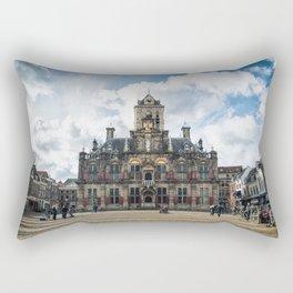 Delft Town Hall Rectangular Pillow