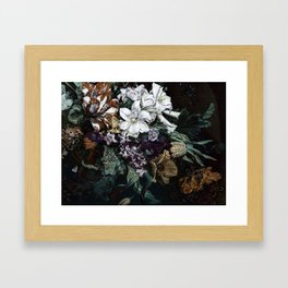 Beautiful Bohemian Bouquet Framed Art Print