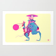 Kikiriburro Art Print