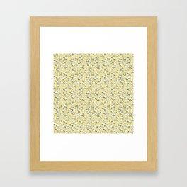 Kitty Corner Framed Art Print