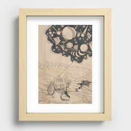 Creator Is Nobody : The Factory Recessed Framed Print