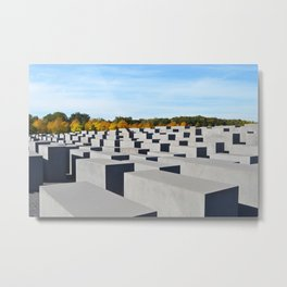The Sun In Remembrance Metal Print