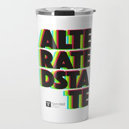 Alterated state Travel Mug