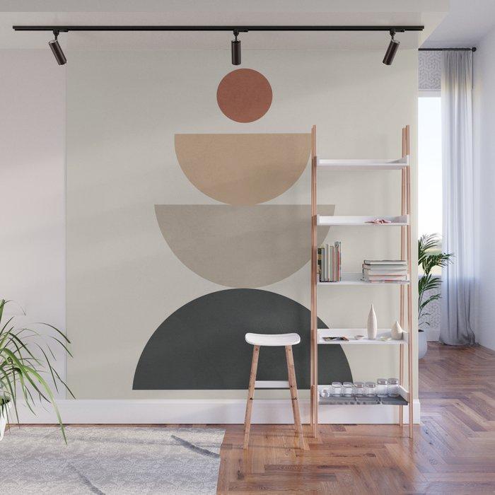 Geometric Modern Art 31 Wall Mural